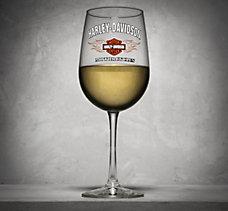 Bar & Shield Flames Wine Glass