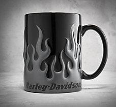 Chrome Flame Mug