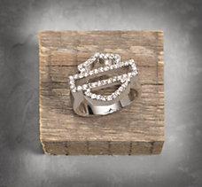 Bar & Shield Ring