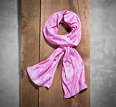Pink Label Allover Print Scarf