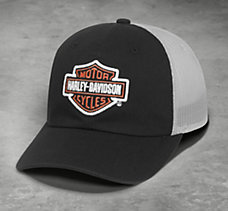 Logo Colorblock Trucker Cap