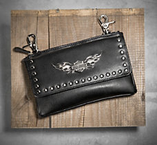 Winged Bar & Shield Hip Bag