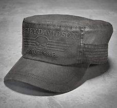 Skull Flat Top Cap