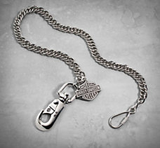 Bar & Shield Biker Chain