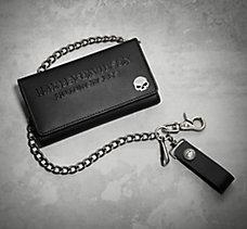 Tri-Fold Deluxe Biker Wallet