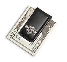 Bar & Shield Money Clip