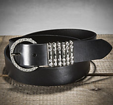 Harley Crystal Keeper Belt