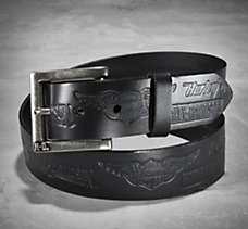 Allover Embossed Belt