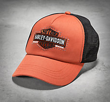 Bar & Shield Logo Trucker