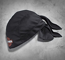 Bar & Shield Textile Skull Cap