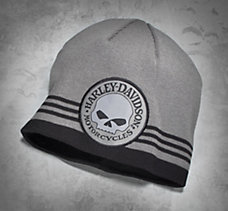 Skull Patch Knit Hat