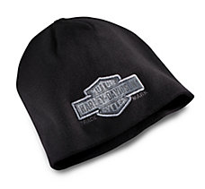 Trademark Bar & Shield Knit Hat