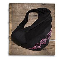 Pink Label Embellished Headwrap