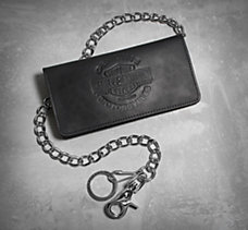 Genuine Motorcycles Biker Wallet