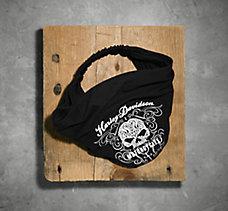 Scroll Skull Headwrap