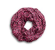 Pink Label Leopard Infinity Scar...