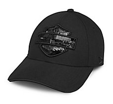 Tonal Sequin Logo Cap