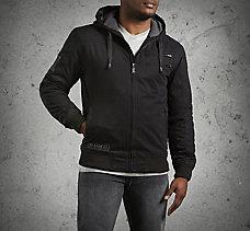 Machine Bolt Hooded Jacket