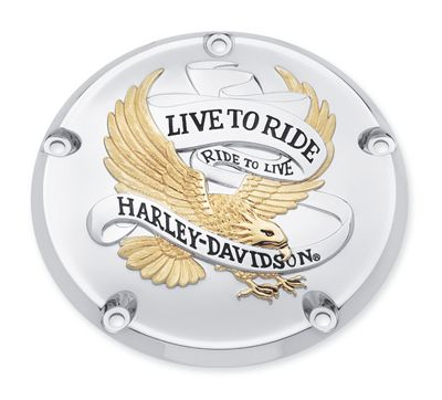 Live To Ride Derby Cover