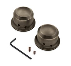 Brass Front Axle Nut Covers