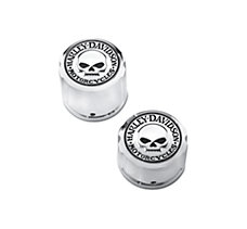 Willie G Skull Rear Axle Nut