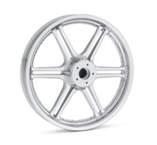 Slotted 6-Spoke 19 in. Front