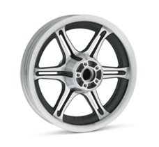 Slotted 6-Spoke 16 in. Rear