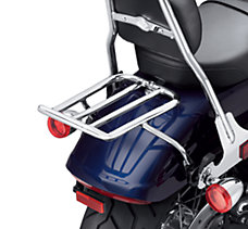 Chopped Fender Luggage Rack -