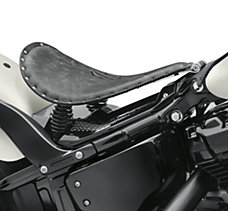 Leather Solo Saddle