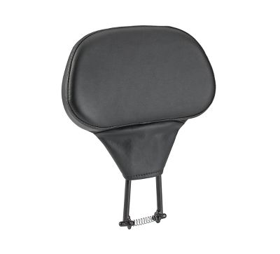 Smooth Leather Rider Backrest Kit