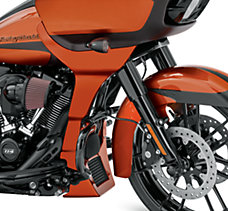 Scorched Orange Road Glide