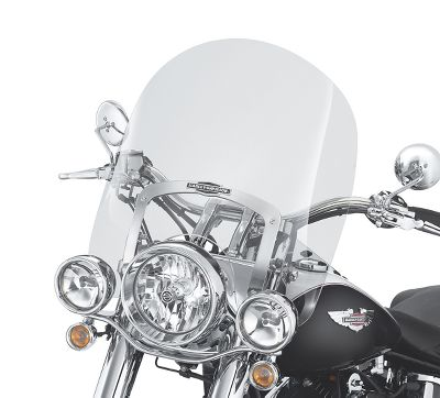 King-Size Nostalgic H-D Detachables Windshield