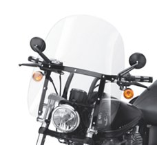 Quick-Release Compact Windshield
