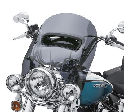 H-D Detachables Wind Splitter Vented Windshield