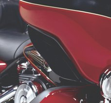 Black Fairing Air Deflector