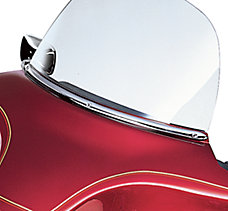 Chrome Windshield Trim