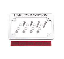 h d license plate frame rear end trim official harley davidson online store - Harley Davidson License Plate Frame For Motorcycle