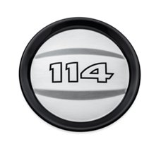 114 Logo Air Cleaner Trim