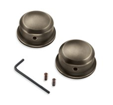 Brass Swingarm Pivot Bolt Covers