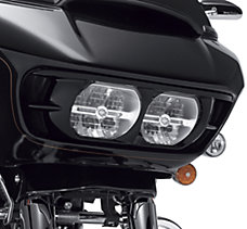 Vivid Black Road Glide Headlamp