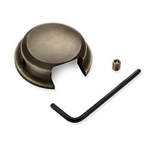 Brass Swingarm Pivot Bolt Cover