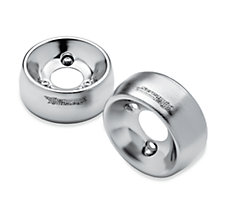 Brushed Satin Chrome 4.5 in. End
