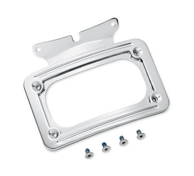 Curved License Plate Frame