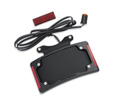 Curved License Plate Frame with