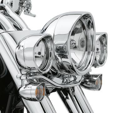 Visor Style Passing Lamp Trim Ring 69732 05 2016 Softail