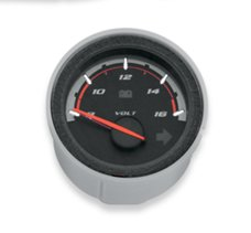 Custom Face Voltmeter