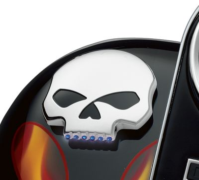 Skull LED Fuel Gauge