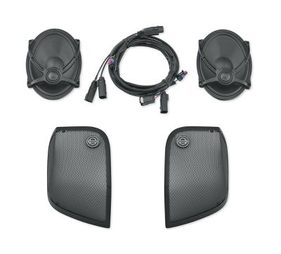 Boom! Audio Saddlebag Speaker Kit