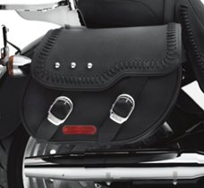 Fat Boy Leather Saddlebags
