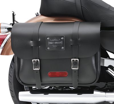 Large Capacity Leather Saddlebags